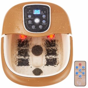 Remote control foot spa massager for large feet